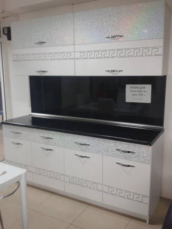 Кухня МДФ 2М