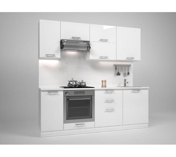 Кухня ТРЕЙСИ 2,20М - без плот