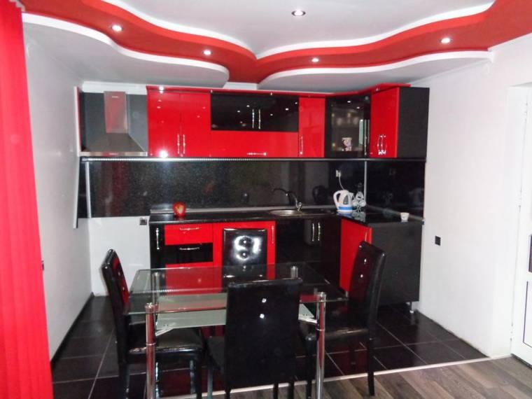 Кухня Червено и Черно