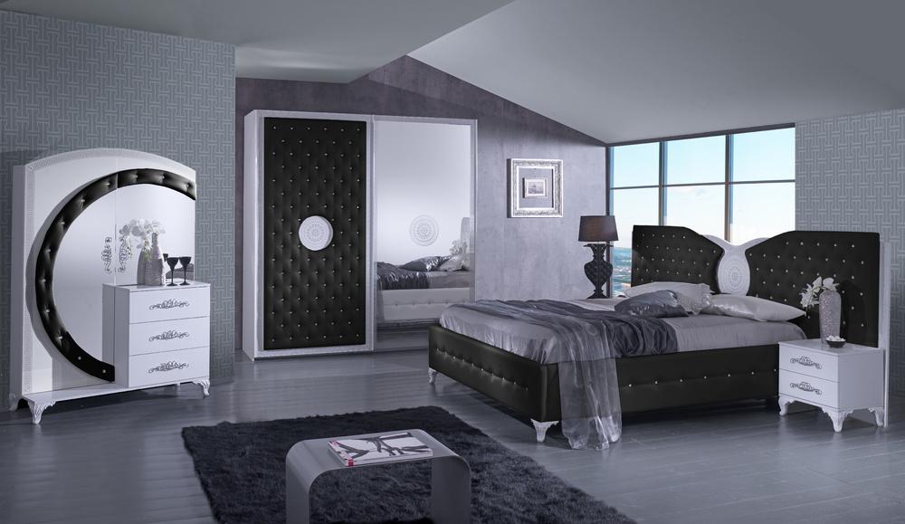 Спалня Анталия черна
