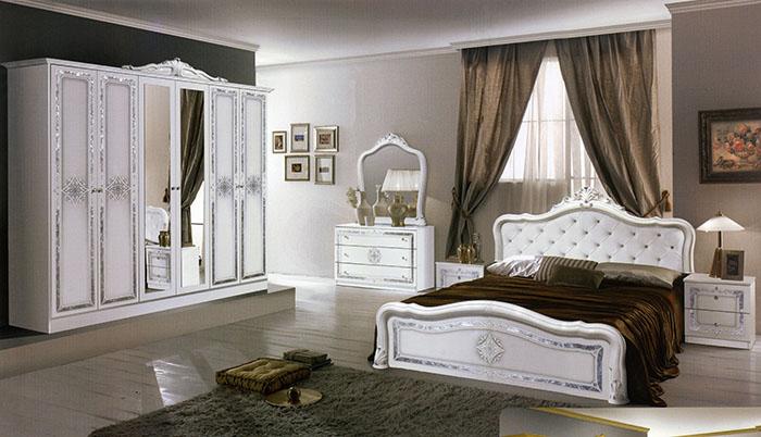 Спалня Луиза бяла